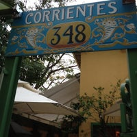 Photo taken at Corrientes 348 Parrilla Porteña by Fernanda J. on 10/19/2012