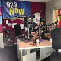 Photo taken at WNOW 92.3 Now FM by Will C. on 1/8/2013