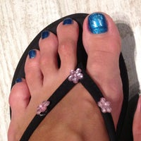 Photo taken at Nails L'mour by Shirley K. on 4/28/2013