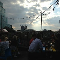 Photo taken at Rooftop @ Queen Of Hoxton by Tami B. on 5/31/2013