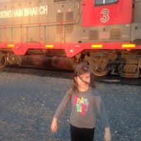 Photo taken at Amtrak train 98 by Victoria R. on 2/29/2016