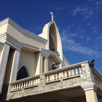 Photo taken at San Guillermo Parish Church by Martin M. on 3/8/2014