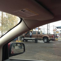 Photo taken at Super Magic Hand Car Wash by Hilda R. on 12/7/2012