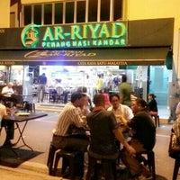 Photo taken at Restoran Ar-Riyad by Diera on 1/16/2014