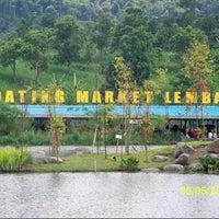Photo taken at Floating Market Lembang by eVe a. on 5/5/2013