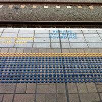 Photo taken at Central Station (Platforms 4 & 5) by Emma C. on 1/23/2013