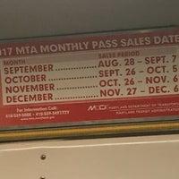 Photo taken at North Avenue Light Rail Station by Natalie J. on 9/18/2017