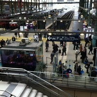 Photo taken at Paris Nord Railway Station by Edith B. on 3/18/2013