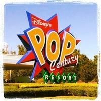 Photo taken at Disney's Pop Century Resort by John 'Disney Dork' C. on 11/25/2012