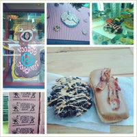 Photo taken at Voodoo Doughnut Tres by Ambriss R. on 6/22/2013