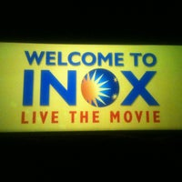 Photo taken at Inox by Nitin V. on 1/7/2013