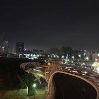 Photo taken at 前鎮之星自行車橋 by Chloe W. on 3/3/2018
