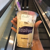 Photo taken at Tealive by Fatin A. on 2/12/2018
