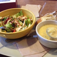 Photo taken at Panera Bread by Abdulmohsen on 10/24/2013