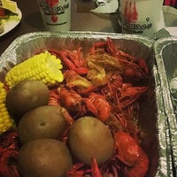 Photo taken at Shane's Seafood & BBQ by Paul E. on 3/16/2016