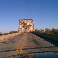 Photo taken at Jimmy Davis Bridge by Paul E. on 11/14/2012