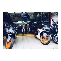 Photo taken at KTM Motorcycle Service Centre by Muhamad M. on 2/29/2016