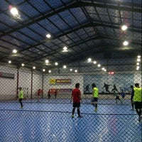 Photo taken at Planet Futsal Yogyakarta by Mii2 K. on 10/25/2012