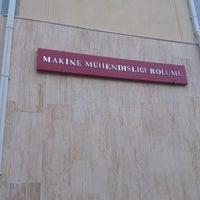 Photo taken at Department of Mechanical Engineering by Ahmet K. on 6/6/2013