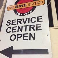 Photo taken at Bike Station by Jimmy C. on 10/30/2013