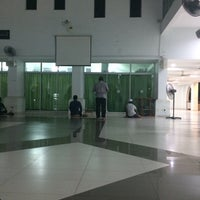 Photo taken at Masjid Al-Hijrah by Azrie I. on 10/19/2016