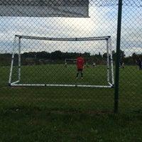 Photo taken at Štadión FK Senica by Andrej F. on 8/25/2015