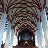 Photo taken at Thomaskirche by Dan L. on 9/15/2012