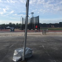 Photo taken at USF Track and Field Complex by Brianna Y. on 3/18/2016