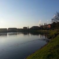 Photo taken at Parco Muzza by Gianluca M. on 3/31/2013