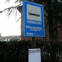 Photo taken at Fermata PLL024 by Gianluca M. on 3/1/2013