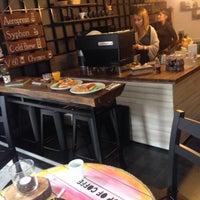 2/14/2016 tarihinde Mehmet Can K.ziyaretçi tarafından 97 Coffee & Brew Bar'de çekilen fotoğraf