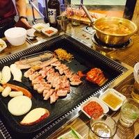 Photo taken at 6구역 by vivianna K. on 2/25/2014