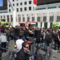 Photo taken at Lunch Beat Montréal by Jan-Nicolas V. on 5/6/2014