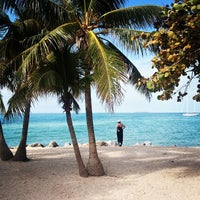 Photo taken at Fort Zachary Taylor State Park Beach by Jan-Nicolas V. on 1/2/2013