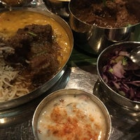 Photo taken at Thali Cafe by Tim on 2/13/2017