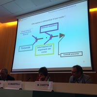 Photo taken at Ordine dei Dottori Commercialisti ed Esperti Contabili di Roma by Antonio S. on 10/7/2014