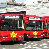 Photo taken at 広島駅新幹線口 バスのりば by 麻凜 on 4/30/2016