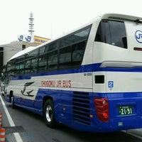 Photo taken at 広島駅新幹線口 バスのりば by 麻凜 on 9/19/2016