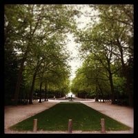 Photo taken at Warandepark / Parc de Bruxelles by Bernard I. on 6/7/2013