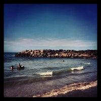 Photo taken at Playa Marina Grande by Abiel R. on 1/14/2013