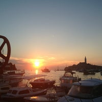 Photo taken at Pristanište Delfin by Ivana on 7/21/2013