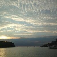 Photo taken at Pristanište Delfin by Ivana on 8/20/2013