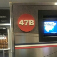 Photo taken at Gate 47B by Miguel B. on 3/13/2013