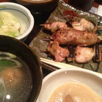 Photo taken at 鳥元 コラル三鷹店 by Yuichi S. on 11/9/2012