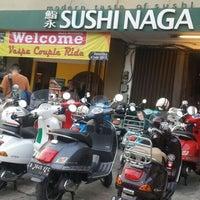 Photo taken at Sushi Naga by Sapta M. on 7/4/2015