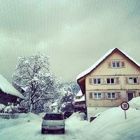 Photo taken at Pfarrkirche Wolfurt by Florian O. on 2/8/2013
