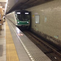 Photo taken at Nishi-nippori Station by RichardHowl on 6/2/2015