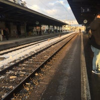 Photo taken at Gare de Renens by Mohammad K. on 1/17/2017