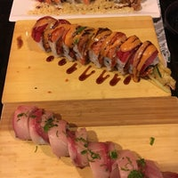 Photo taken at Rock & Roll Japanese Cuisine by Chapin C. on 3/27/2018