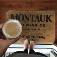 Photo taken at Montauk Brewing Company by Kelsey S. on 10/22/2017